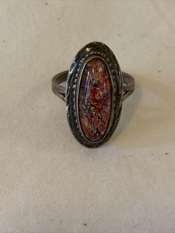 Vintage Sterling Silver Ring By ALEX Size 10 Estate Find