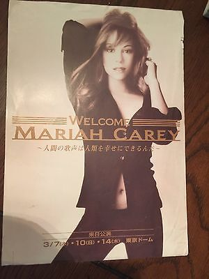 Mariah Carey Japan CONCERT TOUR FLYER /HANDBILL 1993