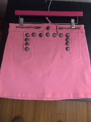 Betsey Johnson Barbie Pink Denim Jean Skirt Pinup Corset Doll Betseyville Retro Betsey Johnson Jeans