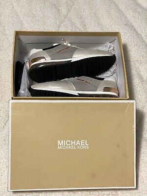 michael kors allie trainer sneakers extreme mesh