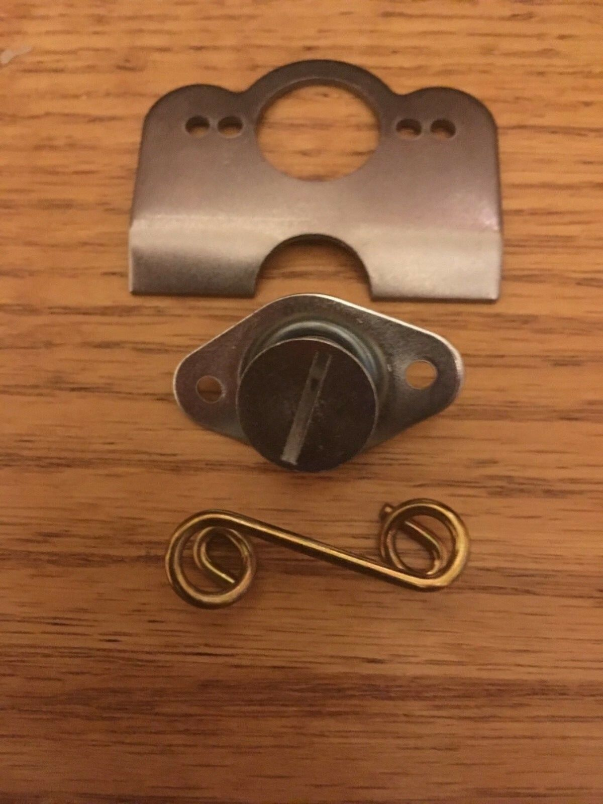 """10 STEEL 5/16"""".400""""QuickTurn Dzus Fasteners Self Eject Buttons,10 Springs,Plates"""