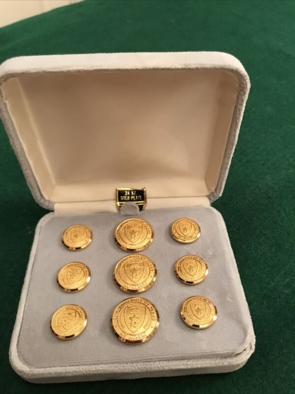 University of Texas at Austin 24kt Gold Plated Blazer Buttons
