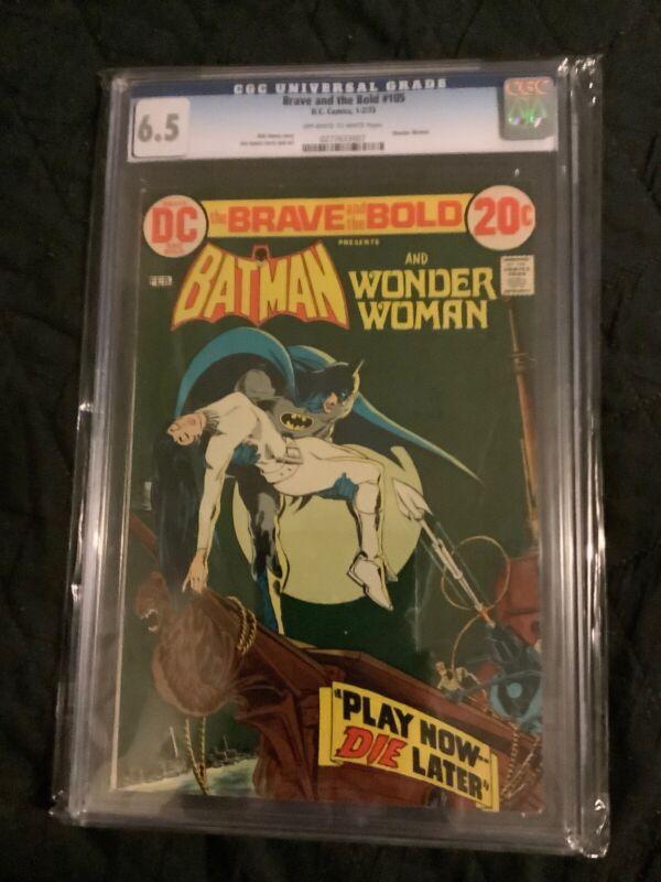 DC Comics Brave And Bold 105 Batman Wonder Woman CGC 6.5