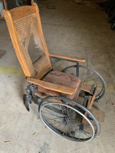 Gendron Wheel Company Wheel Chair ready for movie prop or restore