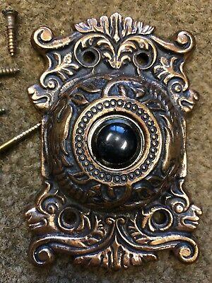 Antique Vintage Brass Dragon Door Bell Cover - Dragon Door