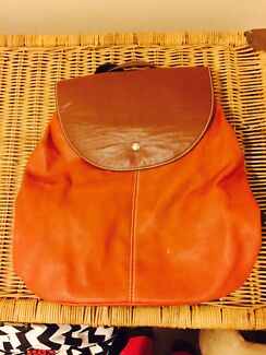 Leather backpack original perlini brand Adelaide CBD Adelaide City Preview