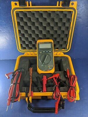 Fluke 16 Multimeter Excellent Hard Case Accessories Screen Protector