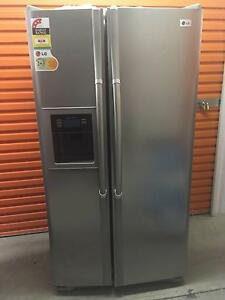 LG Stainless Side By Side Fridge Freezer with Ice maker Robina Gold Coast South Preview