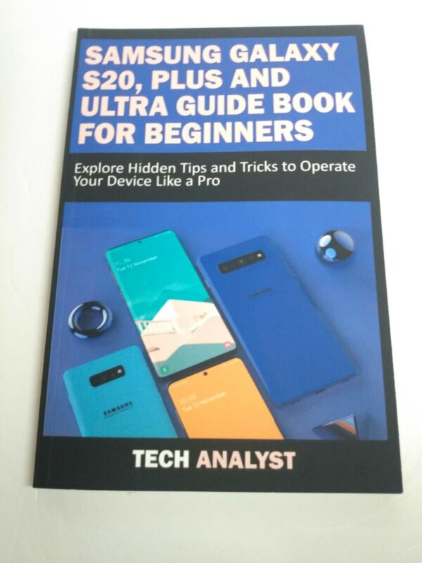 Samsung Galaxy S20, Plus & Users Guide Book Beginners Tips & Tricks 2020