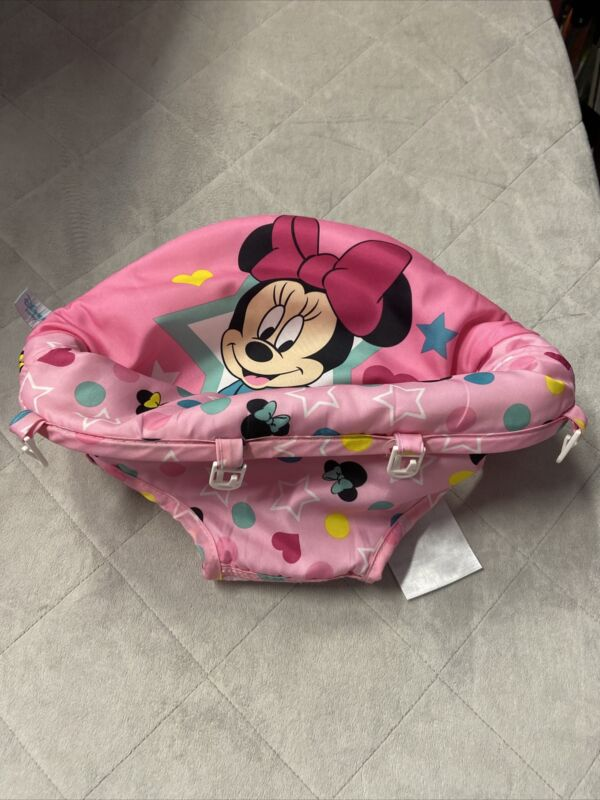 Kids II Disney Minnie Mouse Baby Infant Walker Seat Cover Replacement Part ONLY