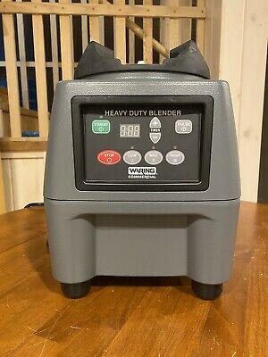 Waring Cb15t Commercial Countertop Food Blender Base Only