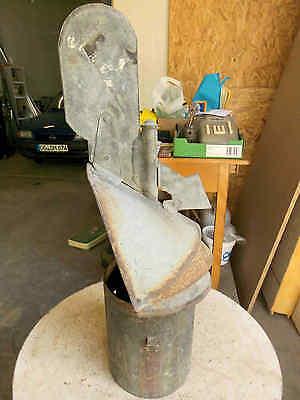 Kaminaufsatz H 69 cm dreht sich nach dem Wind Schornsteinaufsatz