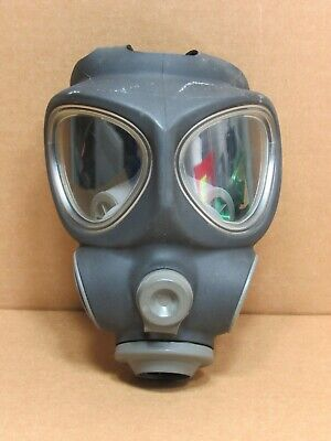 Scott Full Face Respirator Nbc Gas Mask Prepper Military Police Firefighter Sm