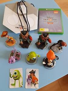 Disney Infinity X-Box game incl 7 x characters Roselands Canterbury Area Preview
