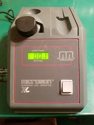 S1 Misonix Microson Ultrasonic Cell Disruptor Xl Processor