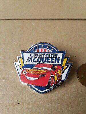 Disney Pin Badge Cars Lightning McQueen Disneyland Paris