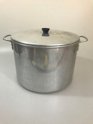 Chilton Ware 20 Quart 20qt  Aluminum Stock Pot w/Lid 20 Quart Stock Pot