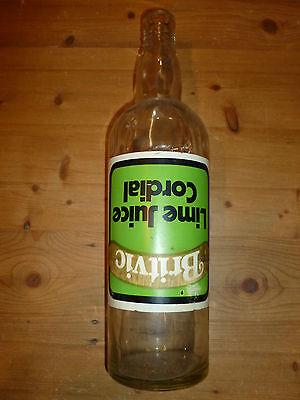 EMPTY Collectors Britvic Large Bottle (Pub Bar)