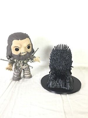 Game Of Thrones Iron Throne Desktop Business Card Or Smart Phone Holder