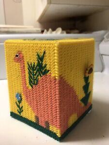 Dinosaur tissue box holder