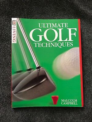 Ultimate Golf Techniques Book by Malcolm Campbell - Pre-owned - 1996 Paperback