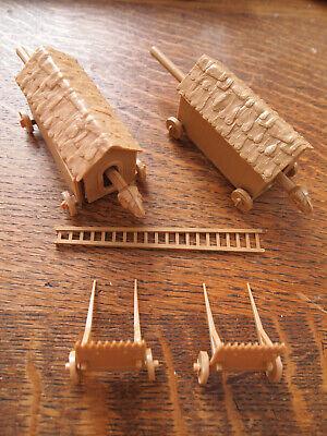 Siege Machines Kit belier echelle protege archer Zvezda 1/72 8014/ 8015