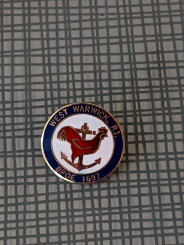 West Warwick Rhode Island Elk Lodge Pin