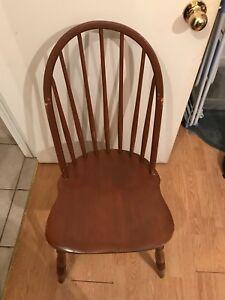 Chaise vintage antique