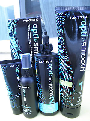 MATRIX Opti Smooth Hair Straightener for Sensitized Hair + Pro-Keratin NEW!