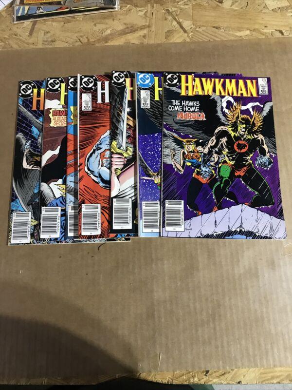 Hawkman lot 2-6 ,10,13 D67