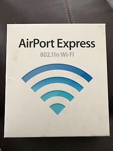 Apple Airport Express  802.11n wifi - 2.4 and 5 ghz