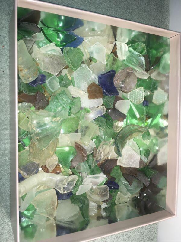 Lake Erie Beach Glass 2.4 Pounds