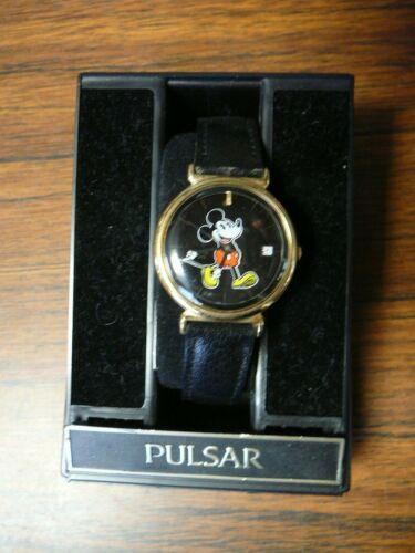 Walt Disney Productions Pulsar Mickey Watch NIB