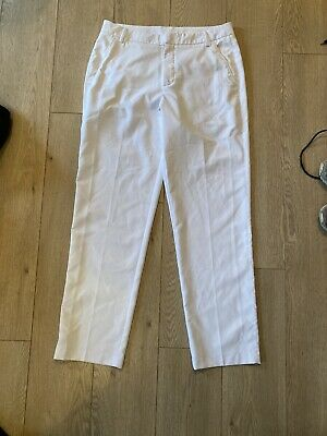 Puma White Golf Trousers Size 34