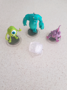 Complete disney infinity1 set of Monster inc   Ormeau Gold Coast North Preview