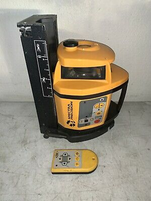 Spectra Precision 1470hp Rotary Laser Level Tool