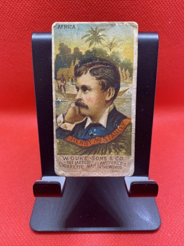 1888 N76 Duke Sons Great Americans Henry M. Stanley