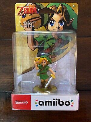 Majora's Mask Link Amiibo The Legend Of Zelda Nintendo Switch Wii U 3DS New