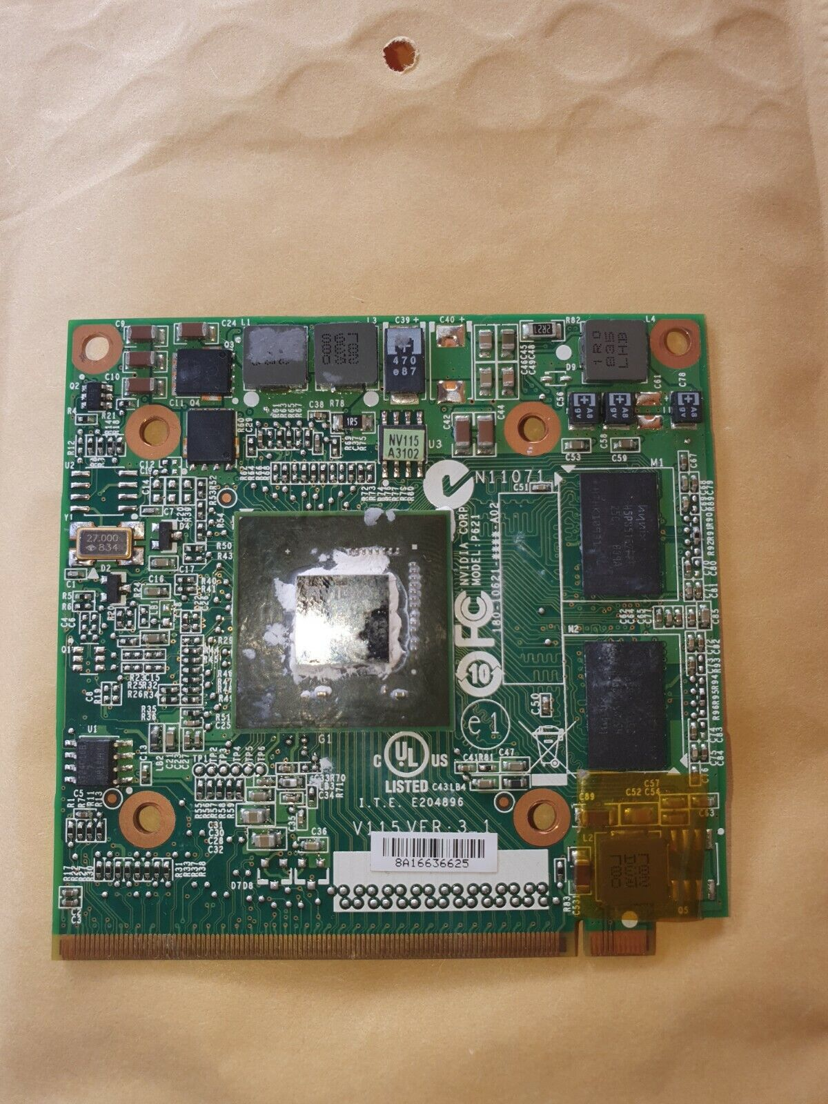 Nvidia GF 9300M GS  Grafikkarte für Acer Aspire 7530G, 8530G, 8730G