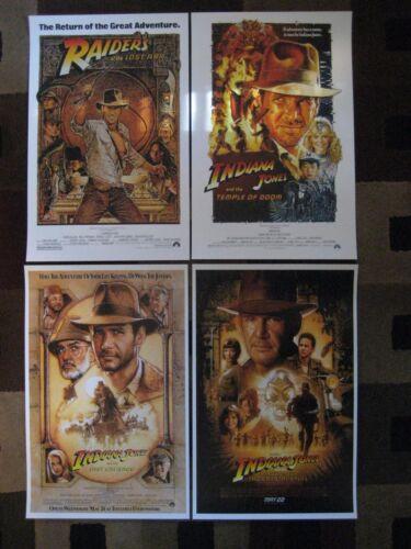 "Indiana Jones (11"" x 17"") Movie Collector"