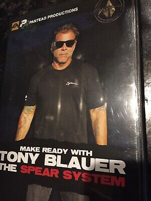 Tony Blauer DVD SPEAR SYSTEM  Vunak JKD MMA Spear Jeet Kune Do