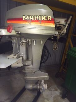 Mariner 15hp outboard with electric start.  D'aguilar Moreton Area Preview