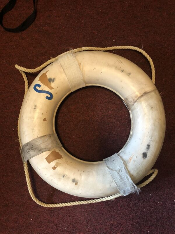 Vintage Jim Buoy Lifesaver Ring