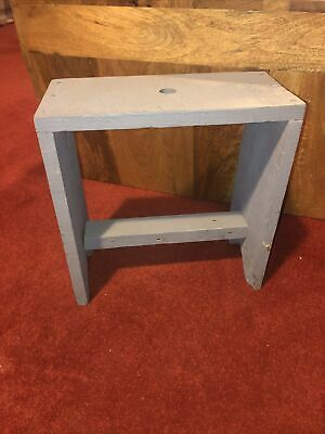 Rustic Folk Wooden Milking Stool / Childs Rustic Farm Stool