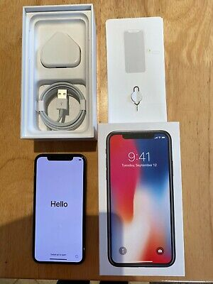 Apple iPhone X - 64GB - Excellent Condition, Space Grey (Unlocked) A1901 (GSM)