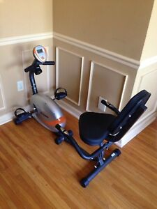 Tempo recumbent bike (sold at Canadian tire)