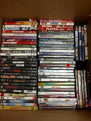 100 DVD MOVIES ASSORTED LOT FREE S&H GREAT FOR STORES FLEE MARKETS HOME & RESALE