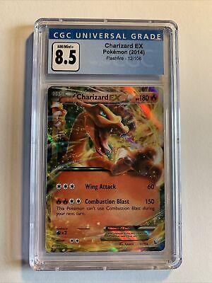 Charizard EX XY Flashfire 12/106 CGC 8.5