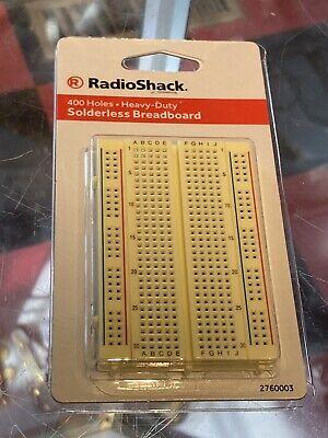 Radioshack 400 Holes Solderless Breadboard 2760003