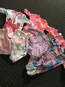 Baby girls newborn 0000 / 000 bundle includes 2 bonds wondersuits... Williamstown Barossa Area Preview